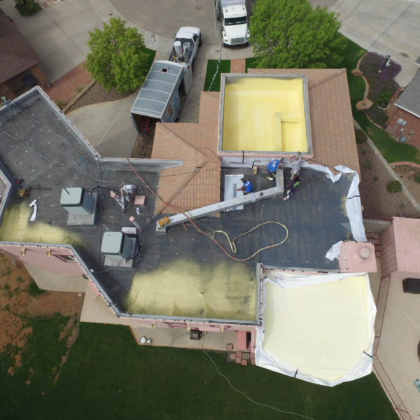 spray foam roofing east el paso