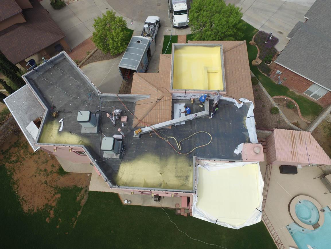 spray foam roofing east el paso