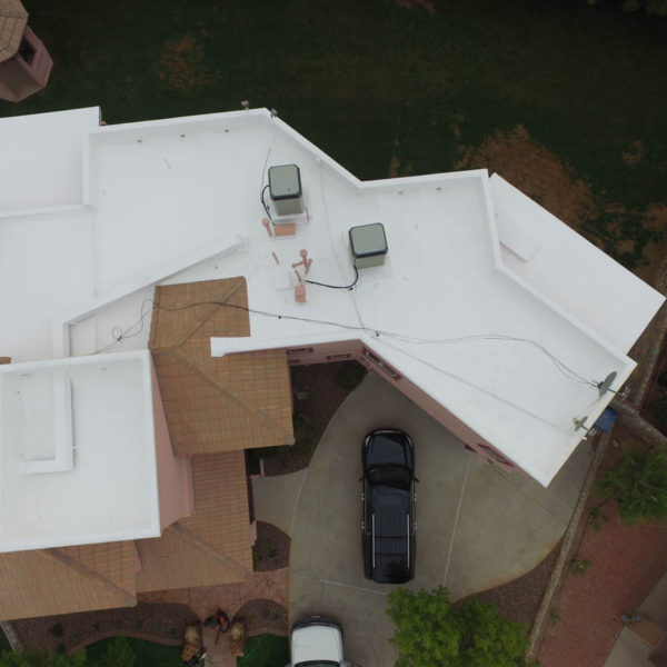 SPF roofing El Paso, flat roofs that dont leak