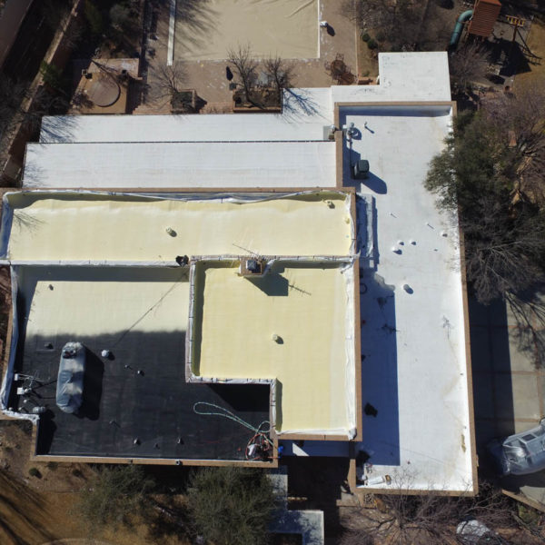 spray foam roofing texas