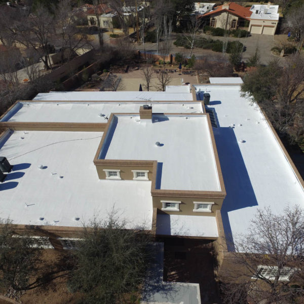 flat roofs that save energy el paso tx