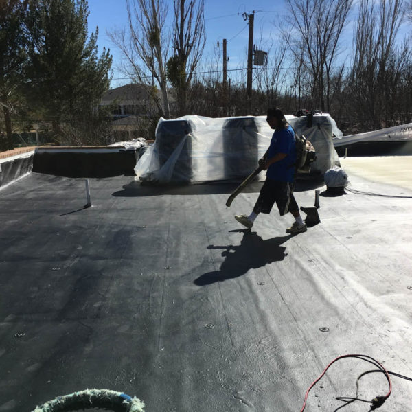 el paso sprayfoam roofing