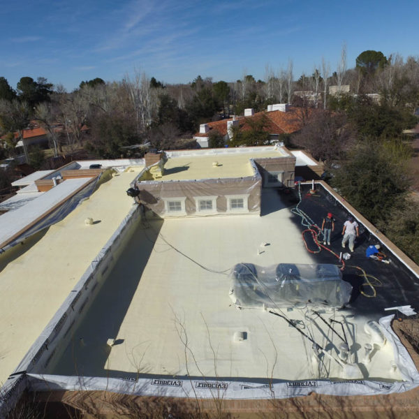 high performance SPF roofing