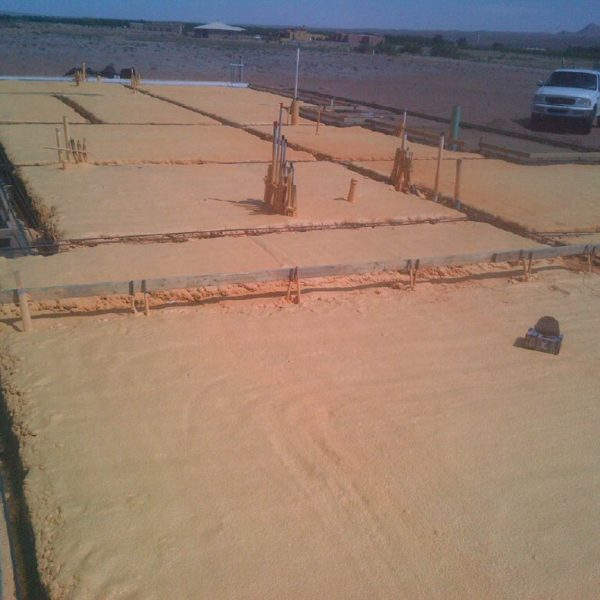 slab insulation for radiant floor heat
